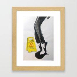 The secret Framed Art Print
