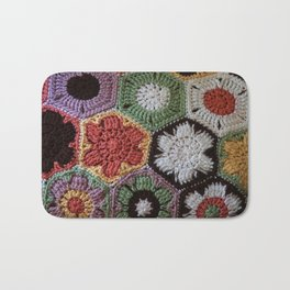 handcrafted mat Bath Mat