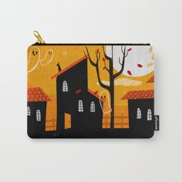 A Haunting We Will Go Carry-All Pouch