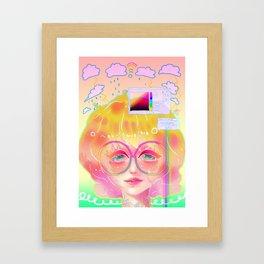 Program Error Framed Art Print