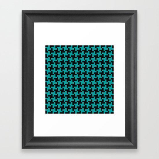 Simple Swirl Framed Art Print