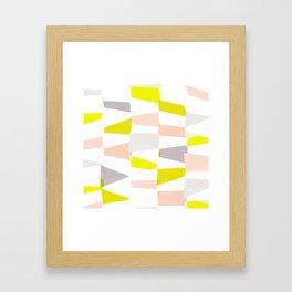 let's have fun! / pattern no.1 Framed Art Print