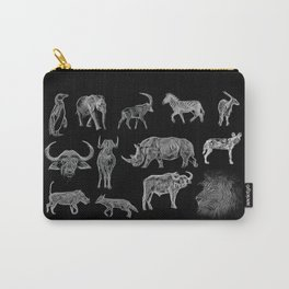 African Wildlife Carry-All Pouch