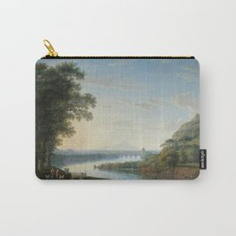 Capriccio View of the River Volturno with Monte Epomeo beyond by Jakob Philipp Hackert. Carry-All Pouch