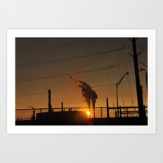 New Jersey Industry Art Print
