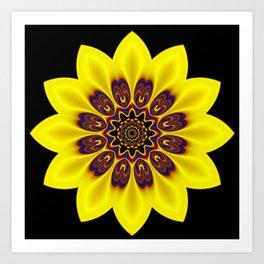 kaleidoscopic pattern -02- Kunstdrucke