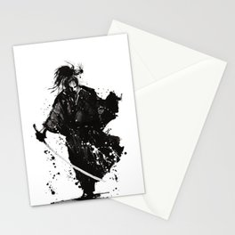Samurai ronin Stationery Cards