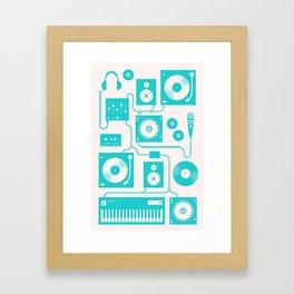 Electronica Framed Art Print