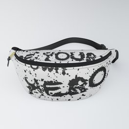 be your own hero funny quote Fanny Pack
