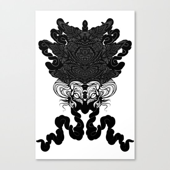 Bride of Cthulhu Canvas Print