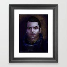 Mass Effect: Kaidan Alenko Framed Art Print