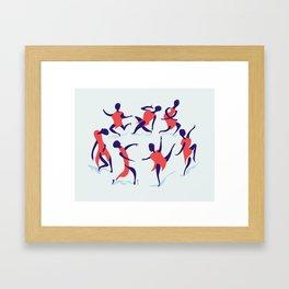 alors on danse Framed Art Print