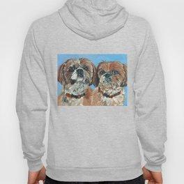 Shih Tzu Buddies Dog Portrait Hoody