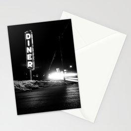 Roadside Diner Stationery Cards