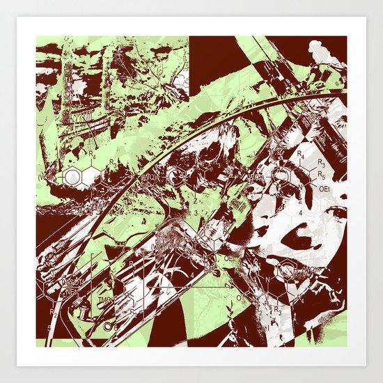 Science Virus Art Print