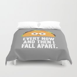 Taco Eclipse of the Heart Duvet Cover