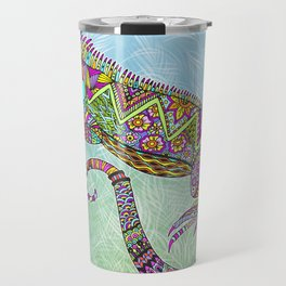 Electric Iguana Travel Mug
