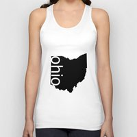 ohio Tank Tops featuring Ohio by Isabel Moreno-Garcia