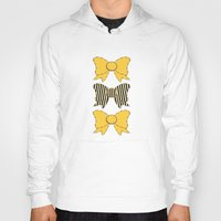 bows Hoodies featuring Sunshine Bows  by Ambers Illustration
