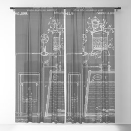 Process Of Making Alcohol Patent 1912 Sheer Curtain