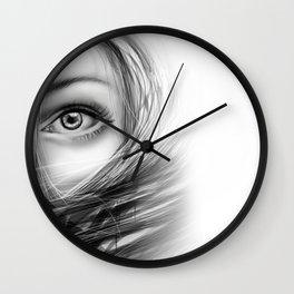 'Coz eye is never lie.... Wall Clock