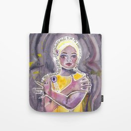 Eartha Kitt Tote Bag