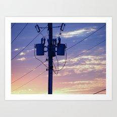 Eastbound 2 Art Print