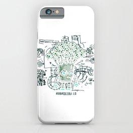 Inorganic Foods - Robroccoli iPhone Case