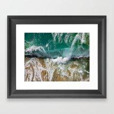 Ocean Wild Framed Art Print