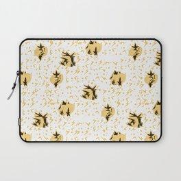 Yellow Chub Bird Laptop Sleeve