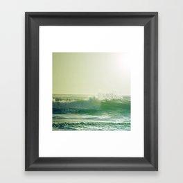 ∞ V A G U E S  ∞  Framed Art Print