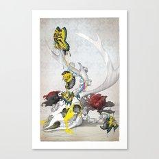 CMYsKull Canvas Print