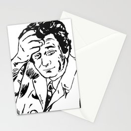 Lieutenant Columbo Portrait Stationery Cards