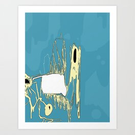 Cold Cave Art Print