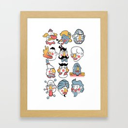 Freaks Framed Art Print