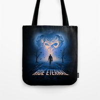 mad max Tote Bags featuring Mad Max: Fury Road by Alyn Spiller