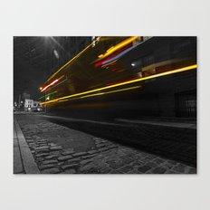 DUMBO Light trail Canvas Print