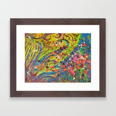 Fun Abstract works Framed Art Print
