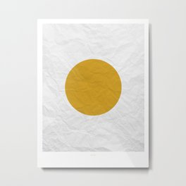 APOLLO Metal Print