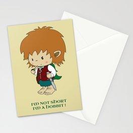 I'm not short, I'm a hobbit Stationery Cards