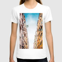 Residential aprtment in old district, Hong Kong T-shirt