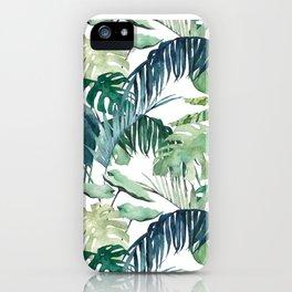 Botanical Palm iPhone Case