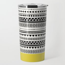 AZTEC AND CHARTREUSE Travel Mug