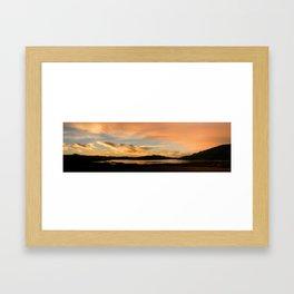Lake Casitas Sunrise Framed Art Print