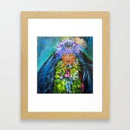 Hula Framed Art Print