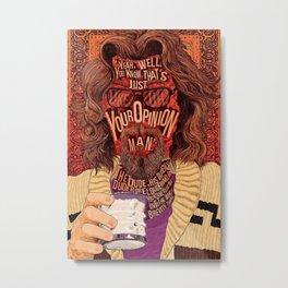 The Dude  gift idea Canvas Print Metal Print