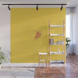 I like cheesy stuff - Cheesy  Pizza Slice Wall Mural