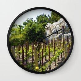 Golden Vine Winery Wall Clock