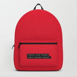 Words Have Power: Read Banned Books Backpack