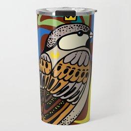 Sparrow Bird Travel Mug